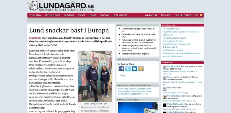 Lund snackar bäst i Europa « Lundagård - 2013-10-10_22.42.24